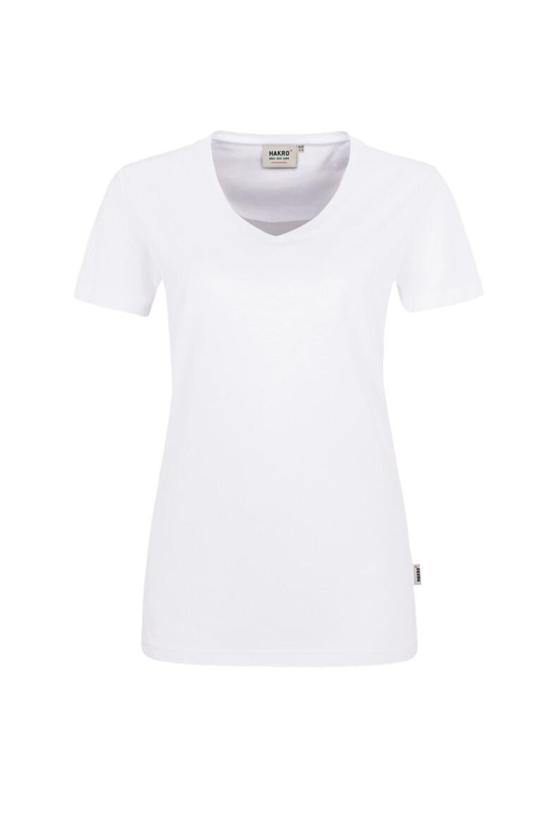 HAKRO Damen V-Shirt Mikralinar®