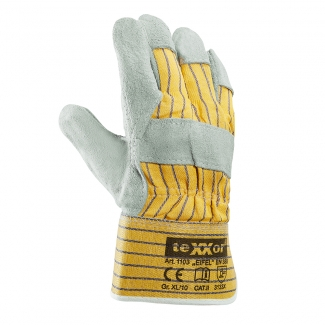 Handschuh -Eifel-Rindkernspaltleder Gr. 10