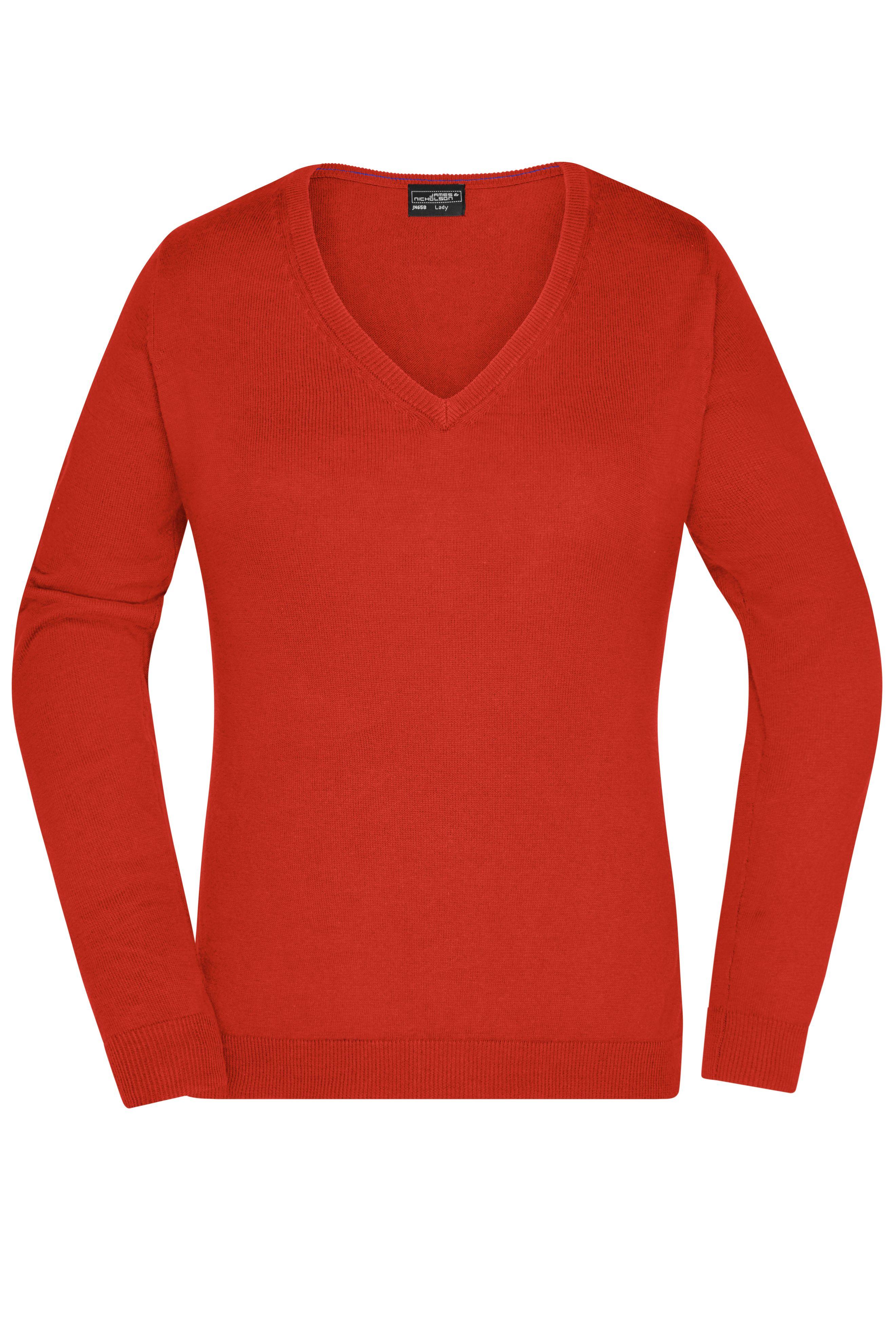 Klassischer Baumwoll-Pullover