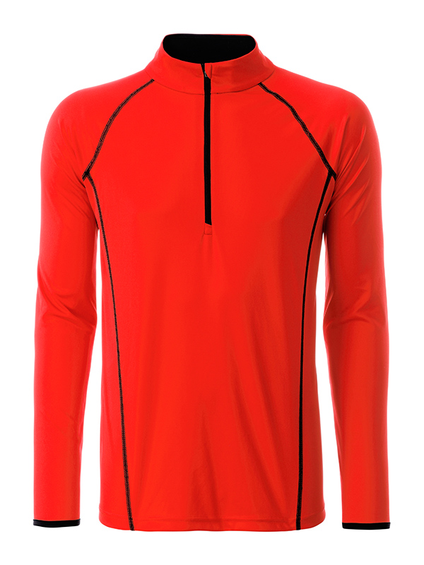 Langarm Funktionsshirt für Fitness und Sport