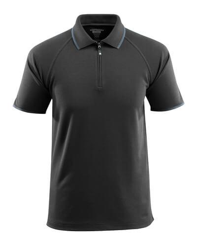MASCOT® Palamos Polo-shirt Größe L, schwarz