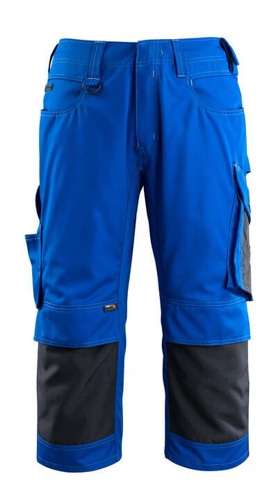 MASCOT® Altona Dreiviertel-Hose Größe C48, kornblau/schwarzblau