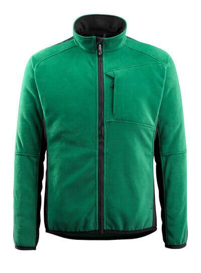 MASCOT® Hannover Fleecejacke Größe L, grün/schwarz