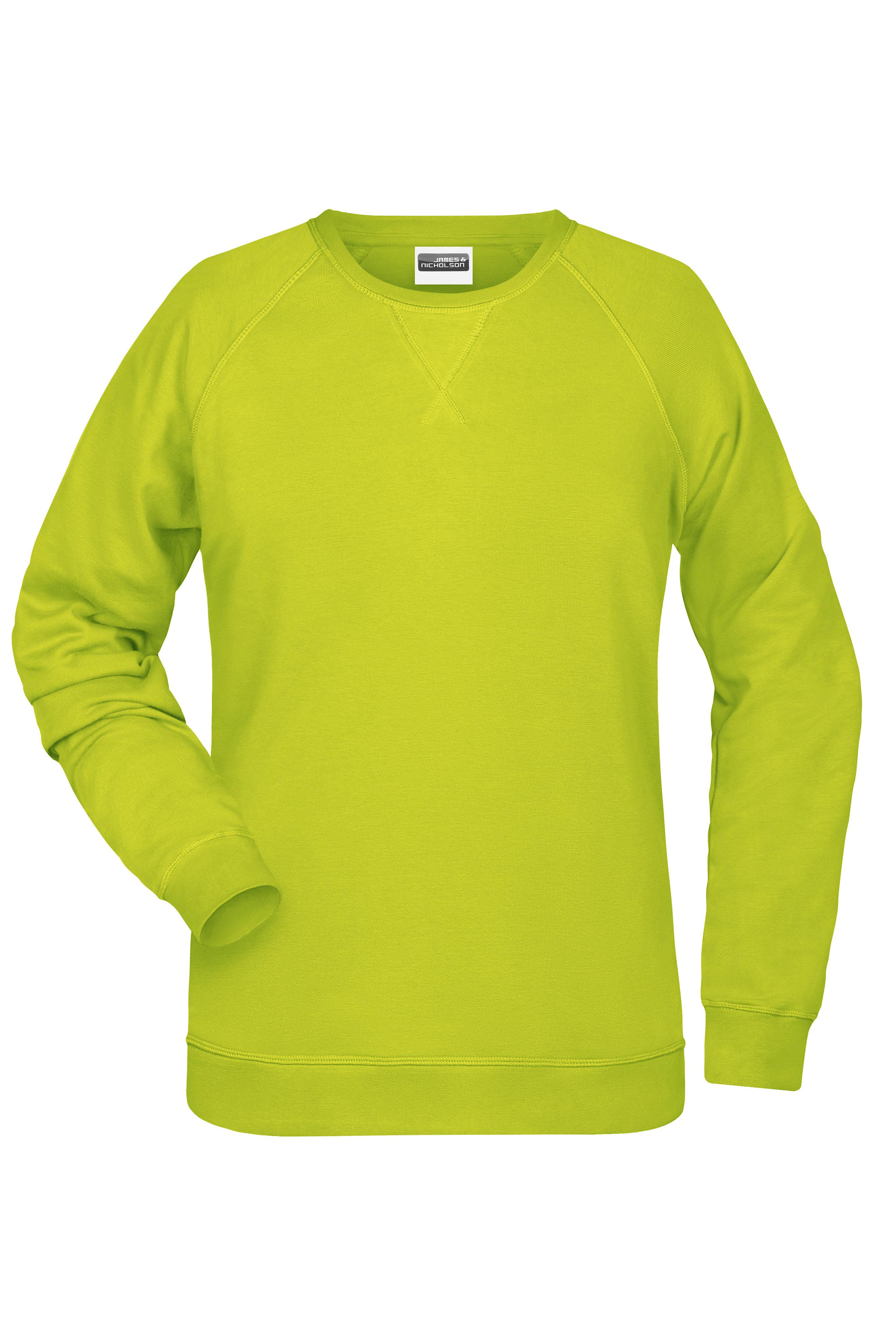 Klassisches Sweatshirt mit Raglanärmeln