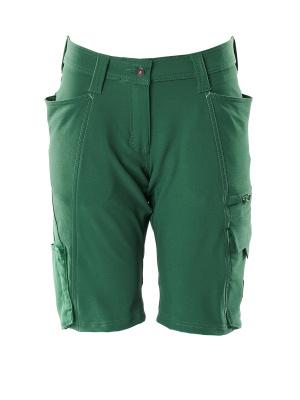 Shorts, Damenpassform, Diamond, Stretch Shorts Größe C50, grün