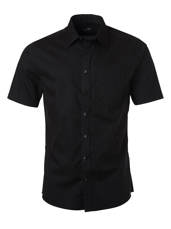 Klassisches Shirt in pflegeleichter Baumwollqualität