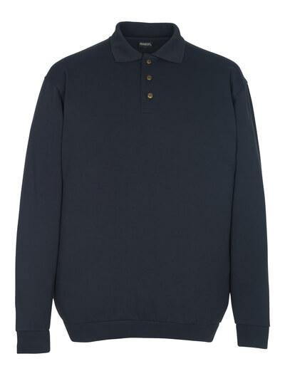 MASCOT® Trinidad Polo-sweatshirt Größe 2XL, schwarzblau