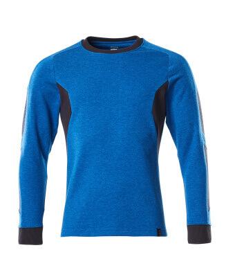 Sweatshirt, moderne Passform Sweatshirt Größe XS ONE, azurblau/schwarzblau