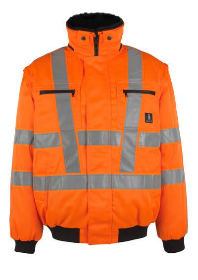 MASCOT® Innsbruck Pilotjacke Größe XL, hi-vis orange