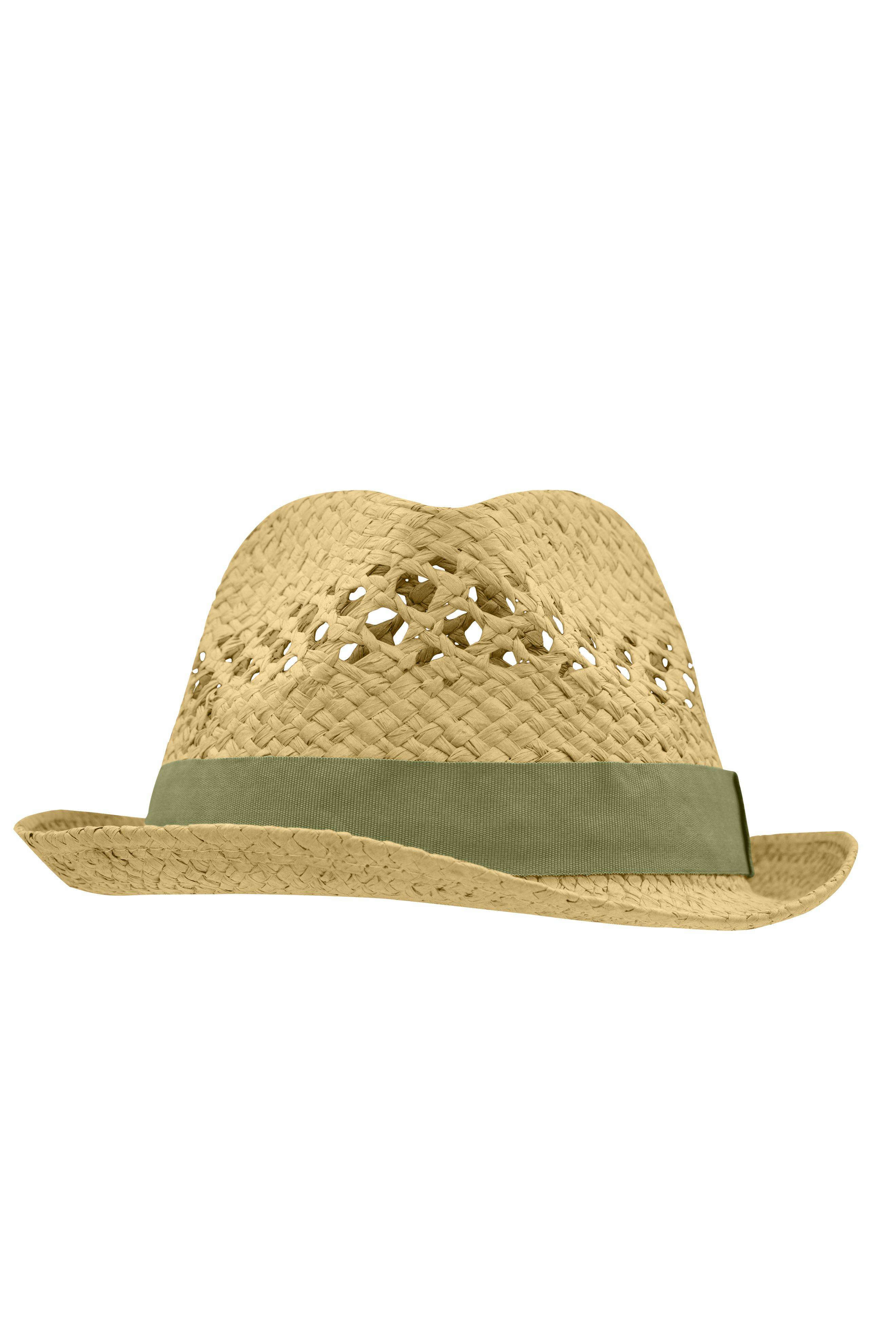 Trendstarker Hut in aufwendiger Flechtoptik
