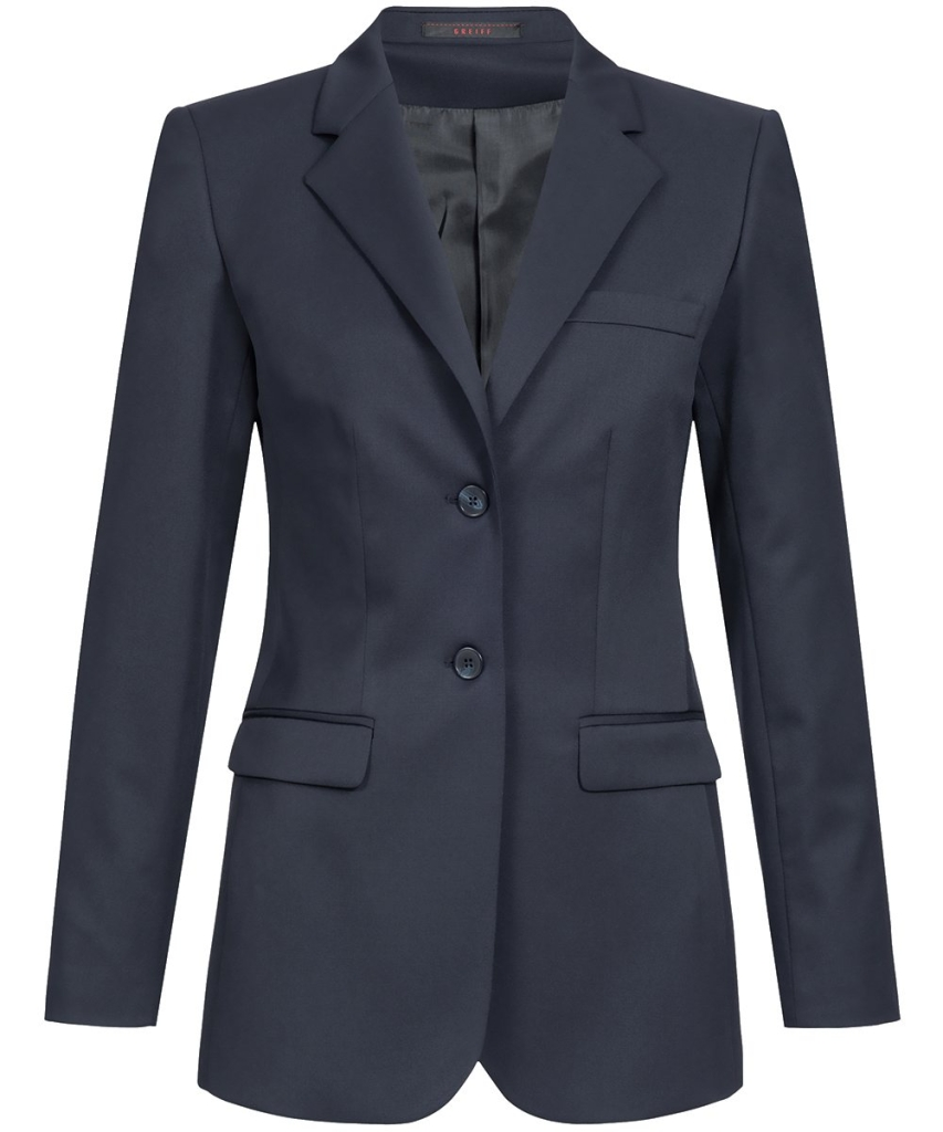 Damen-Langblazer Comfort Fit Basic