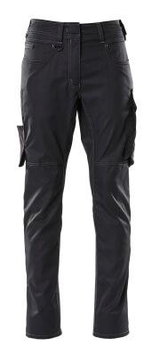 Hose, Damen, Pearl, einfarbig Hose Größe 82C36, schwarz