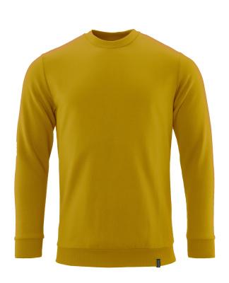 Sweatshirt, moderne Passform, ProWash® Sweatshirt Größe M ONE, Currygelb