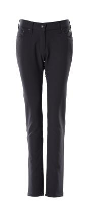 Hose, Damen, Pearl, Stretch, leicht Hose Größe 82C56, schwarzblau