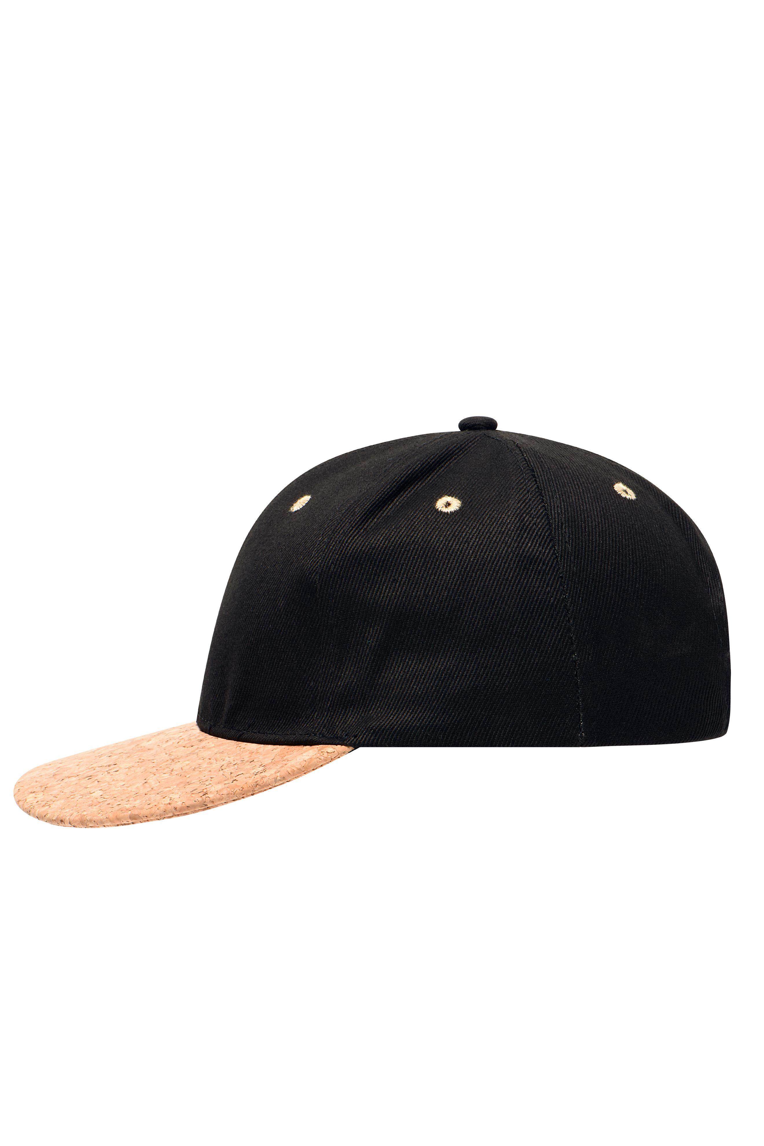 Streetstyle Cap mit geradem Schild aus Kork
