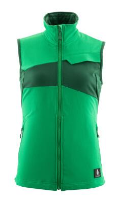 Weste, Damen, Stretch, leicht Weste Größe XL, grasgrün/grün