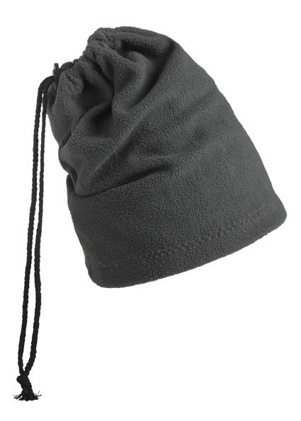 Fleece Mütze und Schal in einem