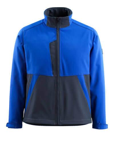 MASCOT® Finley Soft Shell Jacke Größe 3XL, kornblau/schwarzblau