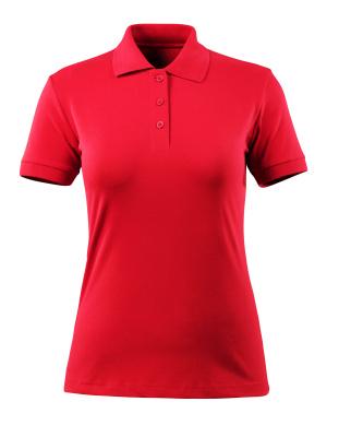 MASCOT® Grasse Damen Polo Shirt Größe S, verkehrsrot