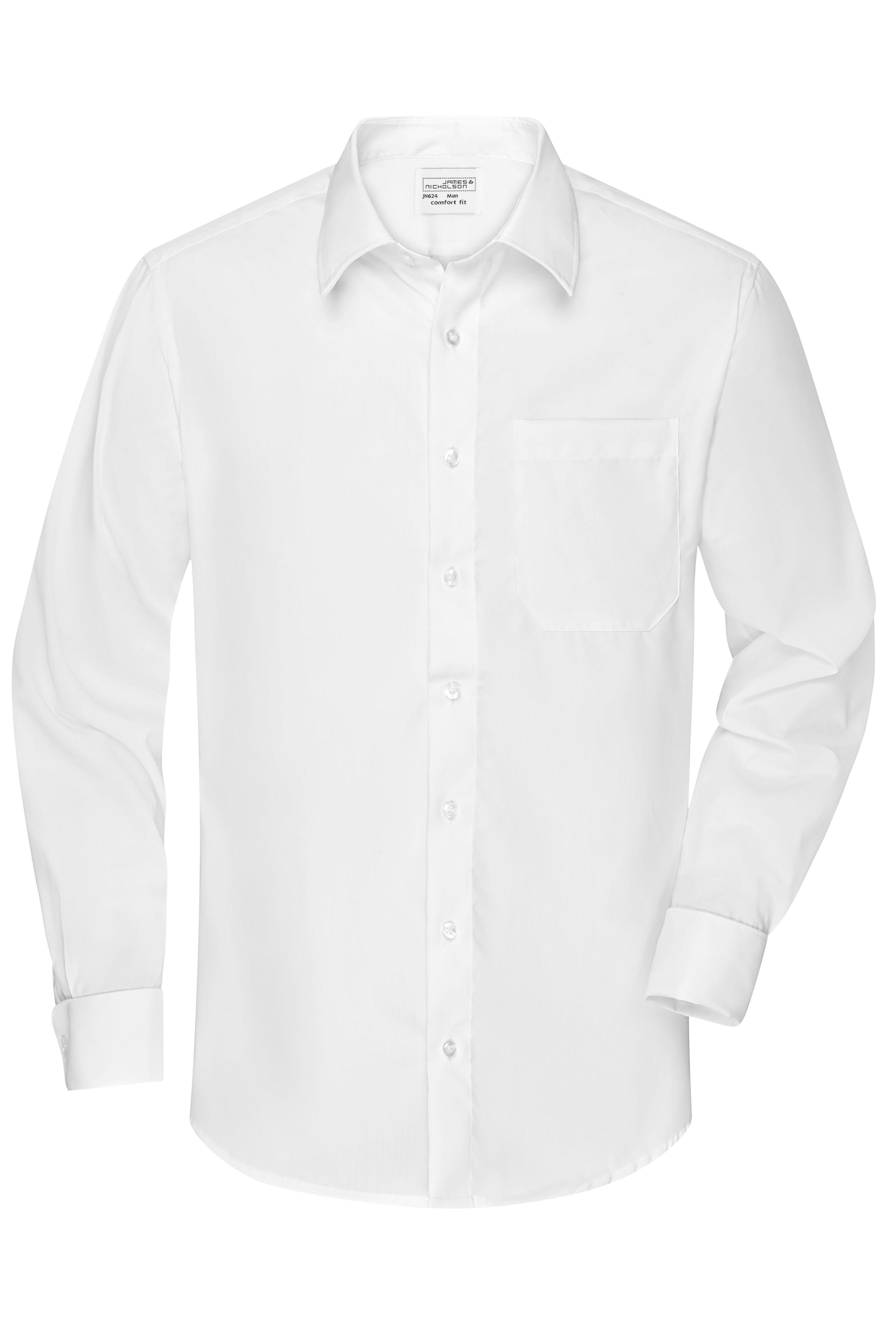 """Business Hemd """"Comfort Fit"""" mit Kent Kragen und Umschlagmanschette"""
