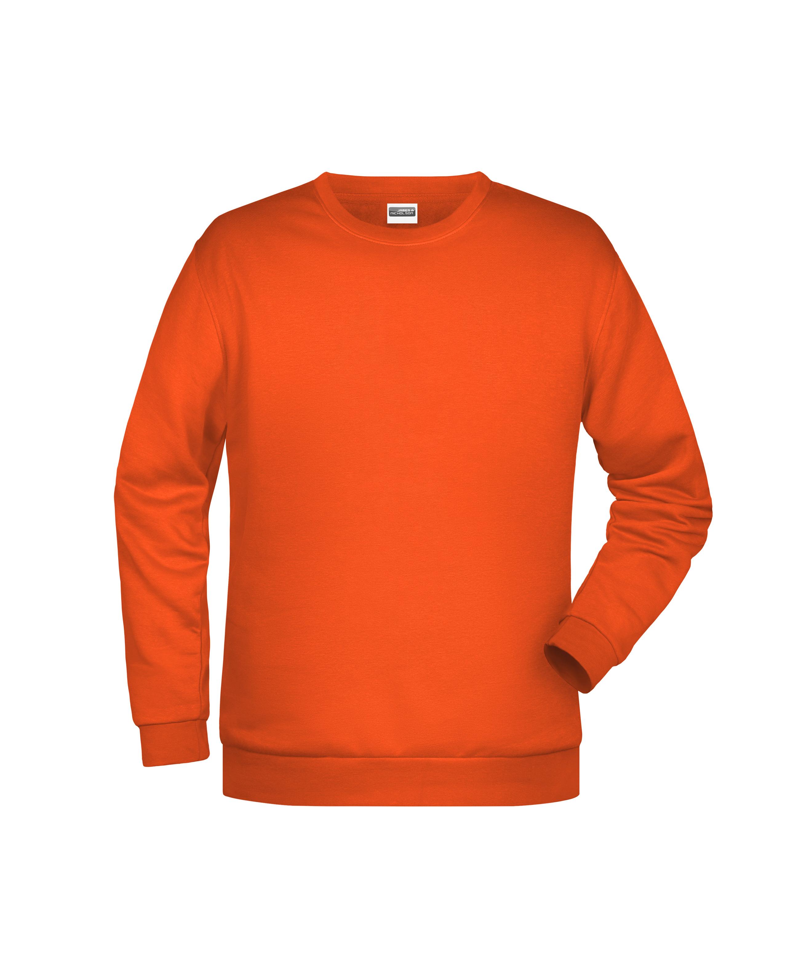 Klassisches Rundhals Sweatshirt für Herren