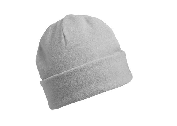 Wärmende Fleece Mütze mit breitem Umschlag