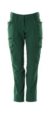 Hose, Damenpassform, Diamond, Stretch Hose Größe 76C36, grün