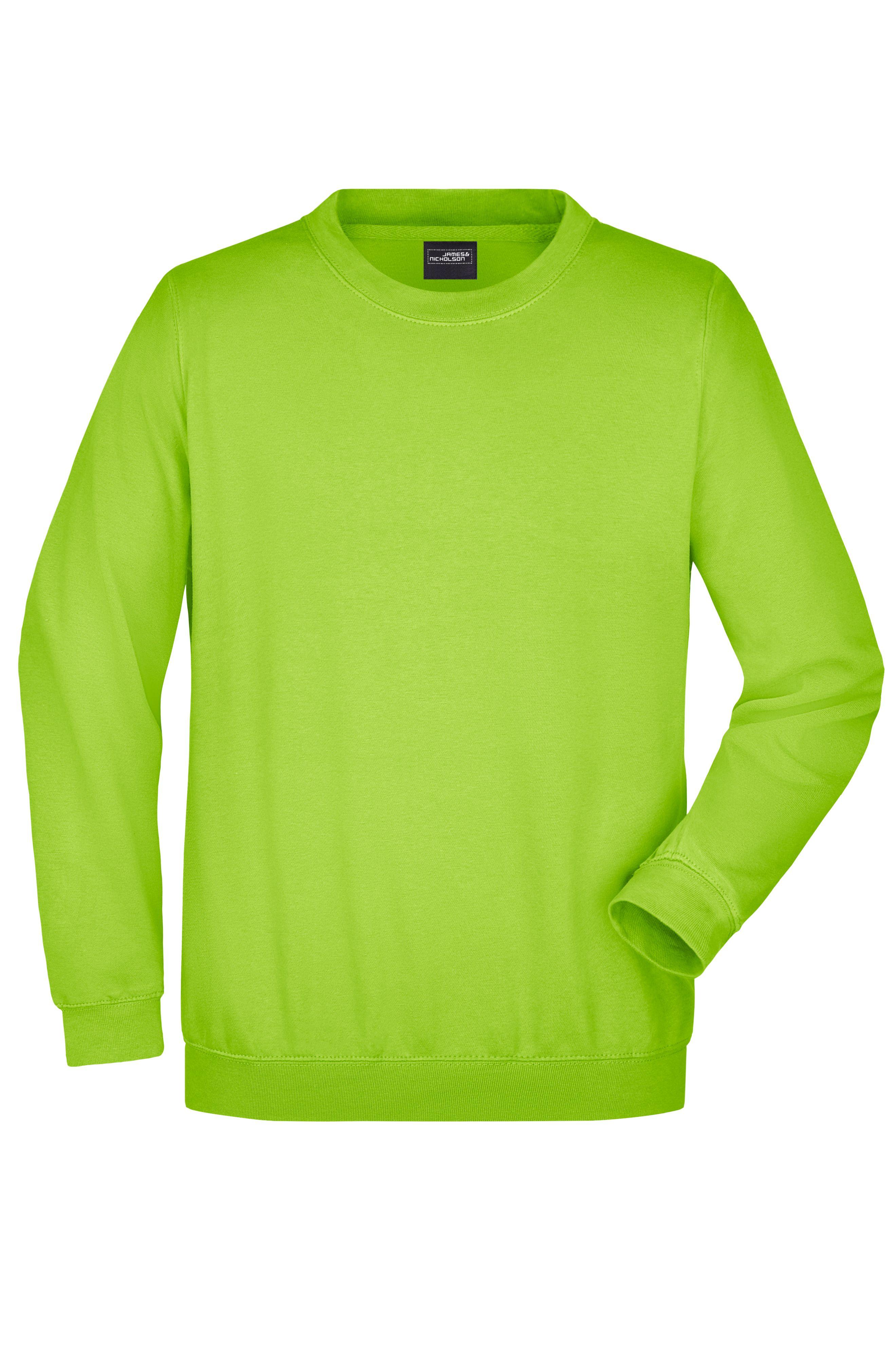 Klassisches Komfort Rundhals-Sweatshirt