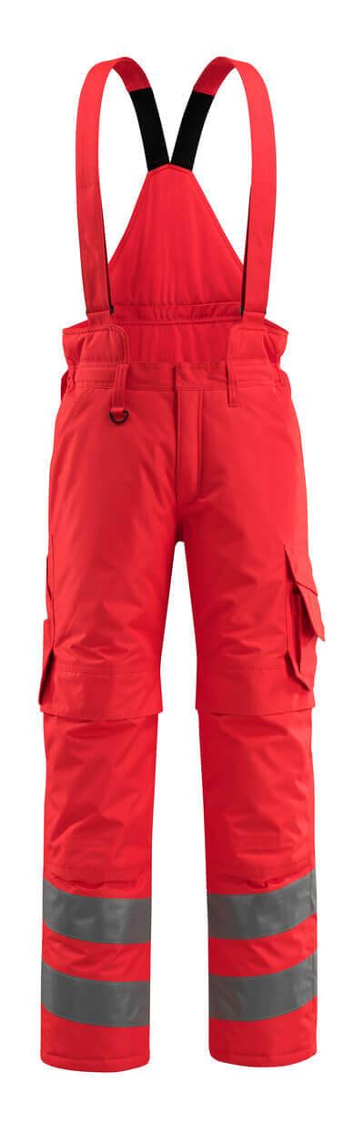 MASCOT® Ashford Winterhose Größe XL, hi-vis rot