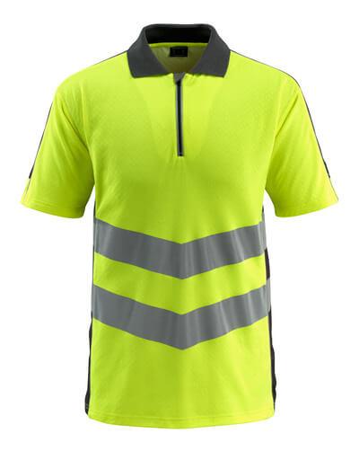 MASCOT® Murton Polo-shirt Größe S, hi-vis gelb/schwarz
