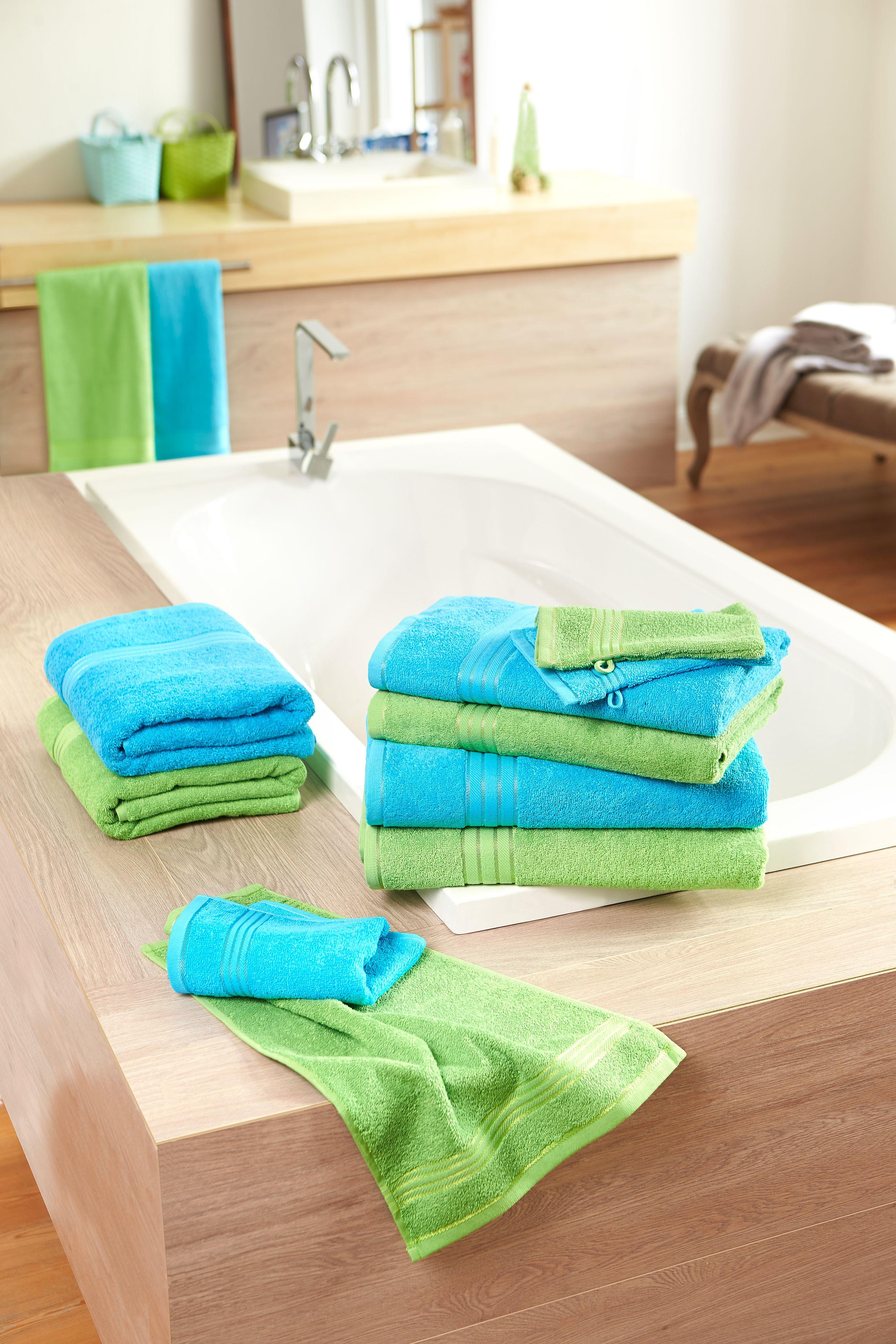 Handtuch in flauschiger Walkfrottier-Qualität