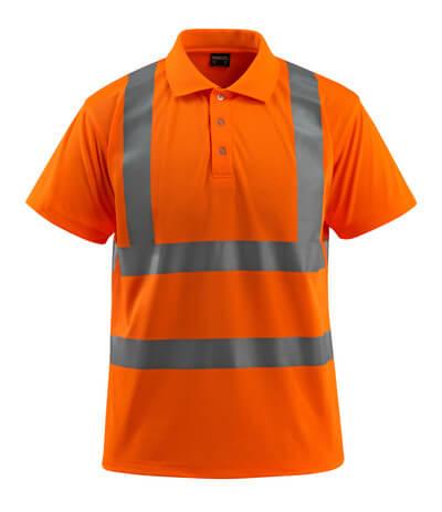 MASCOT® Bowen Polo-shirt Größe M, hi-vis orange