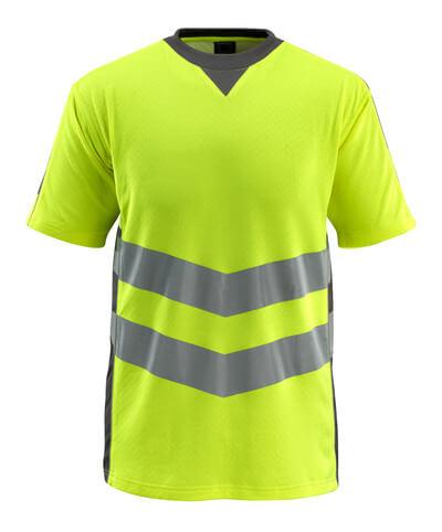 MASCOT® Sandwell T-shirt Größe S, hi-vis gelb/dunkelanthrazit