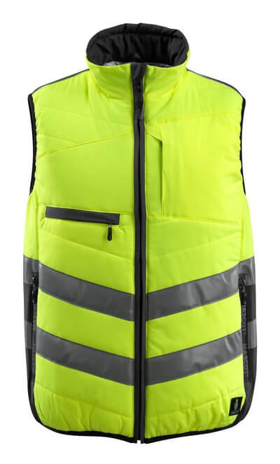 MASCOT® Grimsby Thermoweste Größe S, hi-vis gelb/schwarz