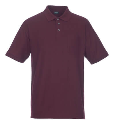 MASCOT® Borneo Polo-shirt Größe 2XL, bordeaux