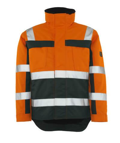 MASCOT® Teresina Winterjacke Größe 4XL, hi-vis orange/grün