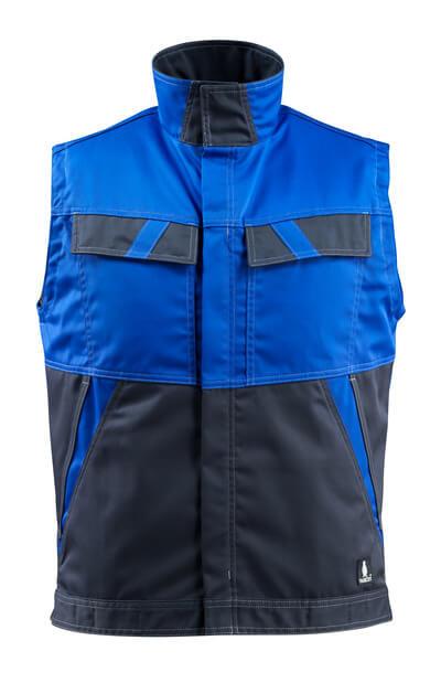 MASCOT® Kilmore Weste Größe S, kornblau/schwarzblau