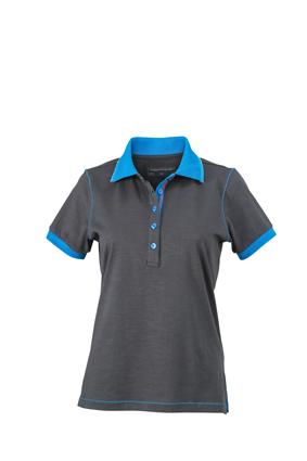 Polo in aktuell trendiger Slub Qualität