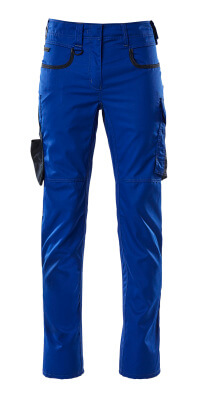 Hose, Damen, Diamond, zweifarbig Hose Größe 82C42, kornblau/schwarzblau