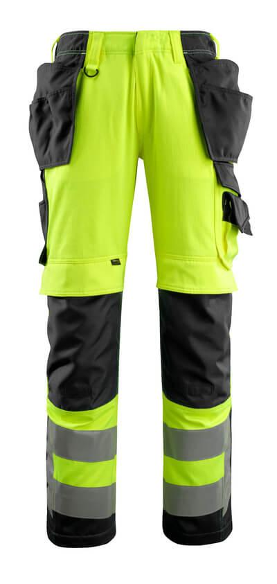 MASCOT® Wigan Handwerkerhose Größe 82C56, hi-vis gelb/schwarz