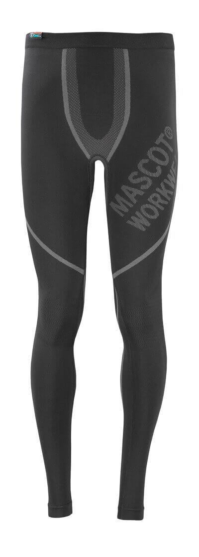 MASCOT® Moss Funktionsunterhose Größe XL, schwarz