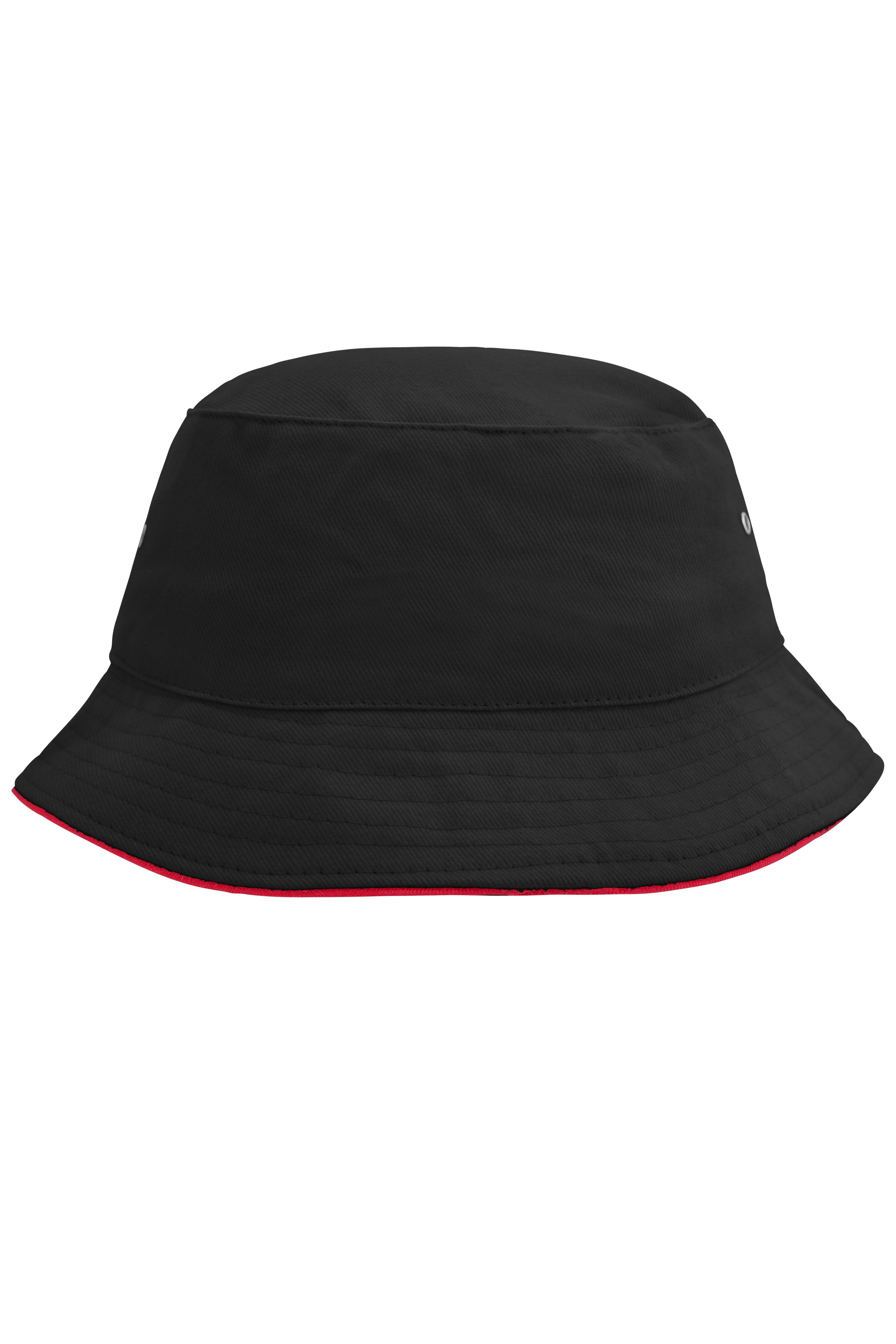 Trendiger Hut aus weicher Baumwolle