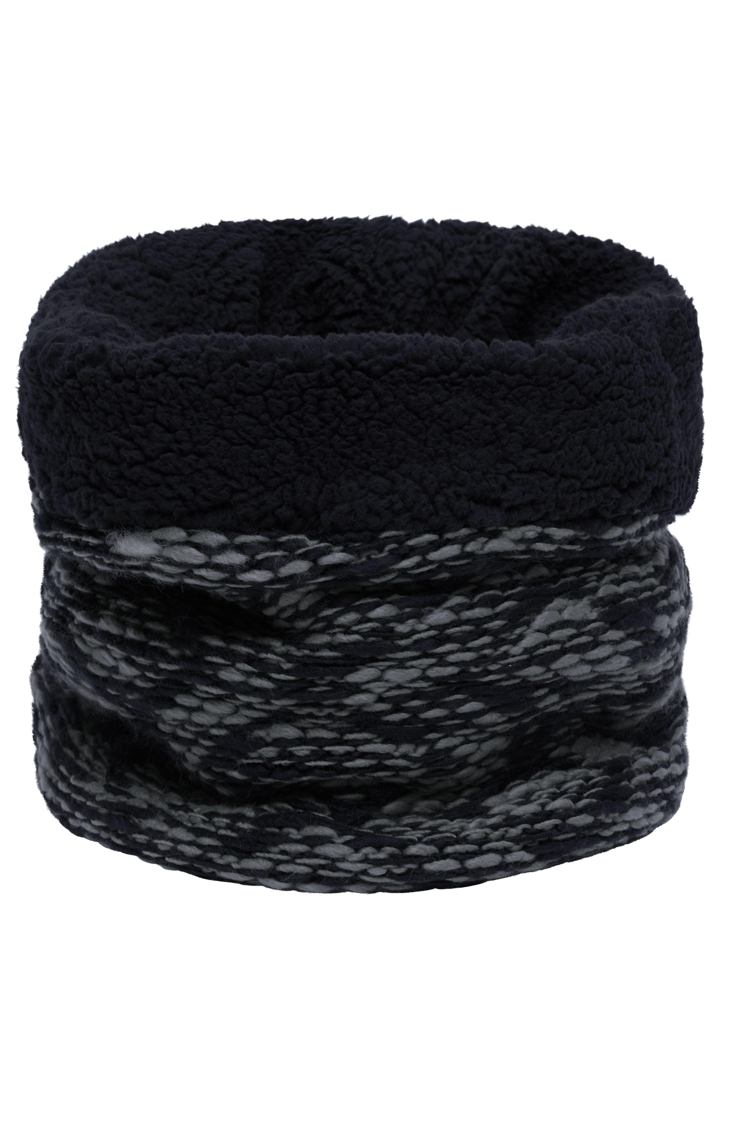 Schlauchschal mit flauschigem Highloft Fleece-Futter
