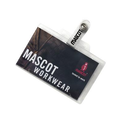 MASCOT® Kananga ID-Kartenhalter Größe ONE, transparent