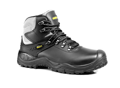 MASCOT® Elbrus Sicherheitsstiefel S3 Sicherheitsschuhe Größe 1143, schwarz/gelb