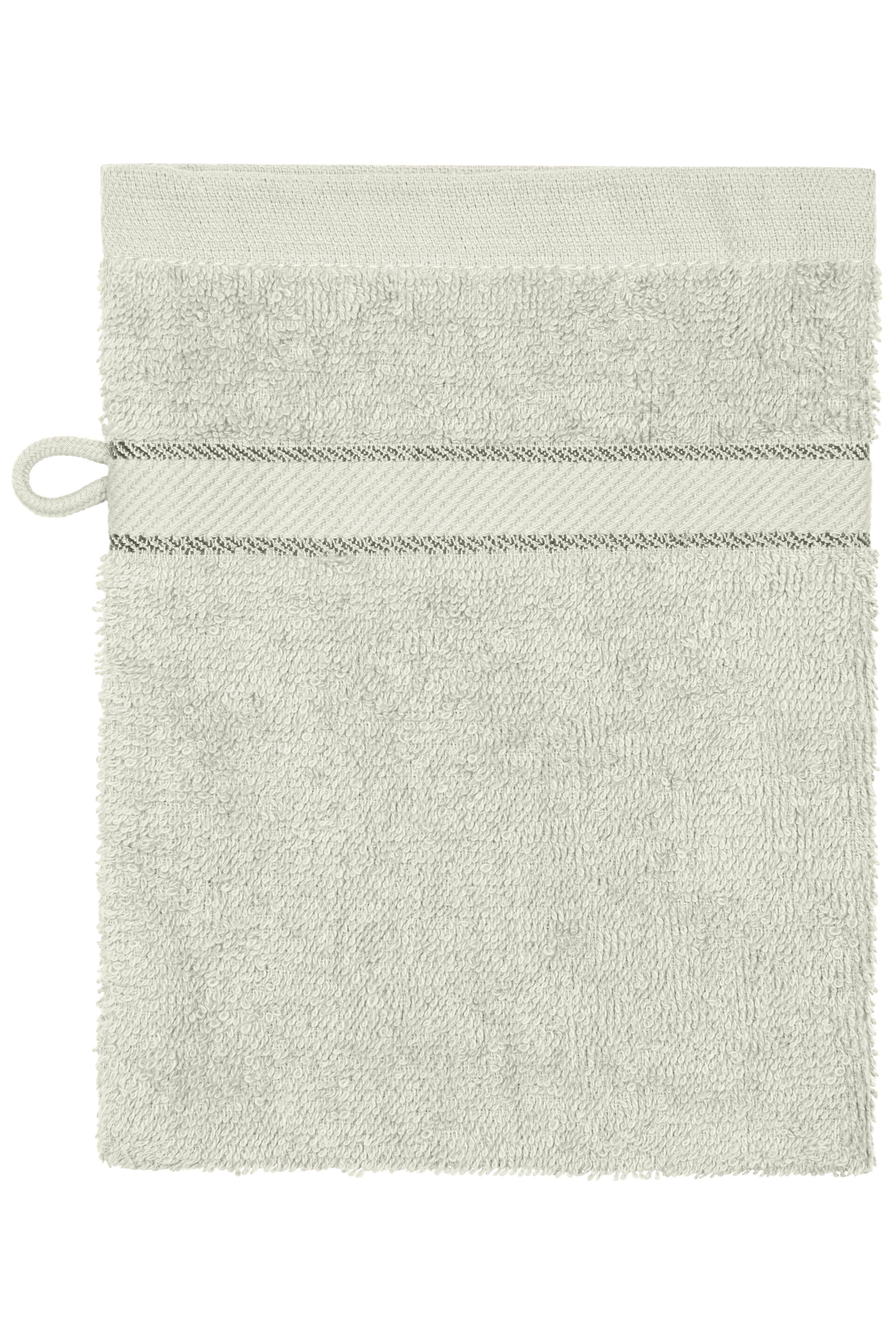 Waschhandschuh im dezenten Design