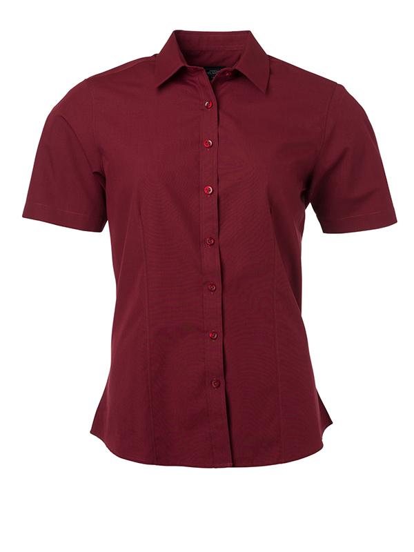 Klassisches Shirt aus pflegeleichtem Mischgewebe