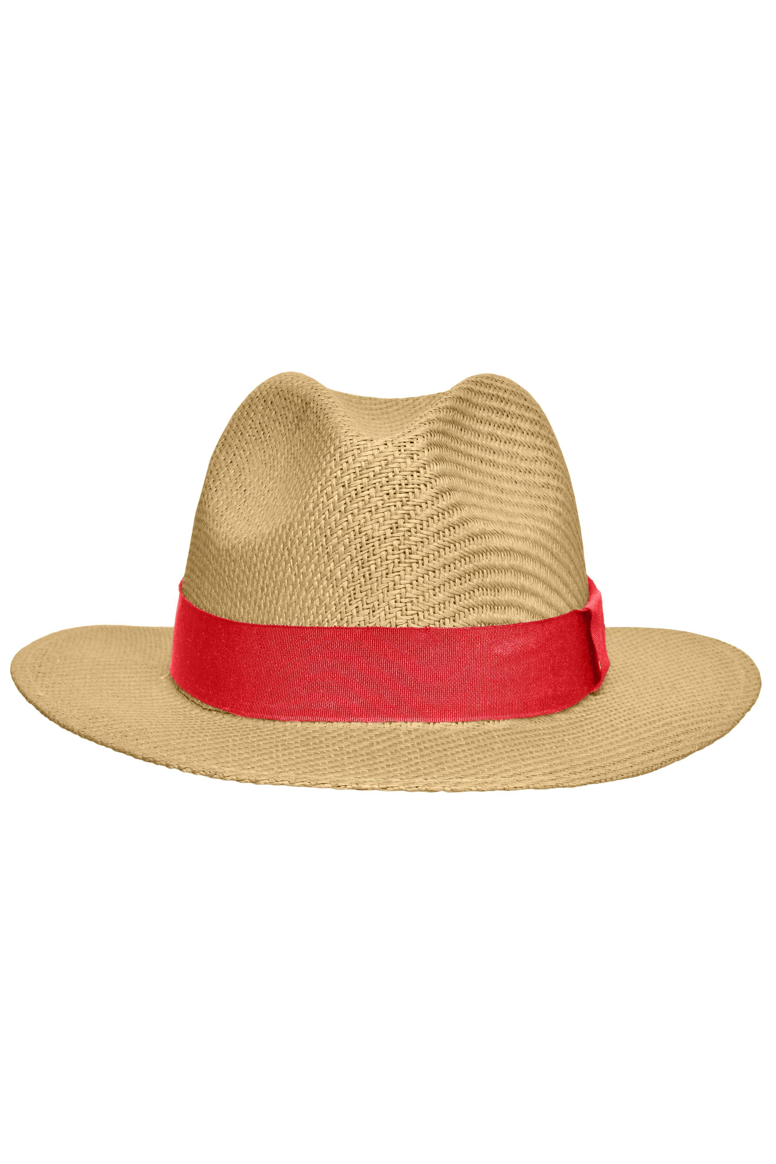 Stilvoller Hut in leichter Sommerqualität
