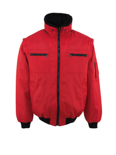 MASCOT® Innsbruck Pilotjacke Größe XS, rot