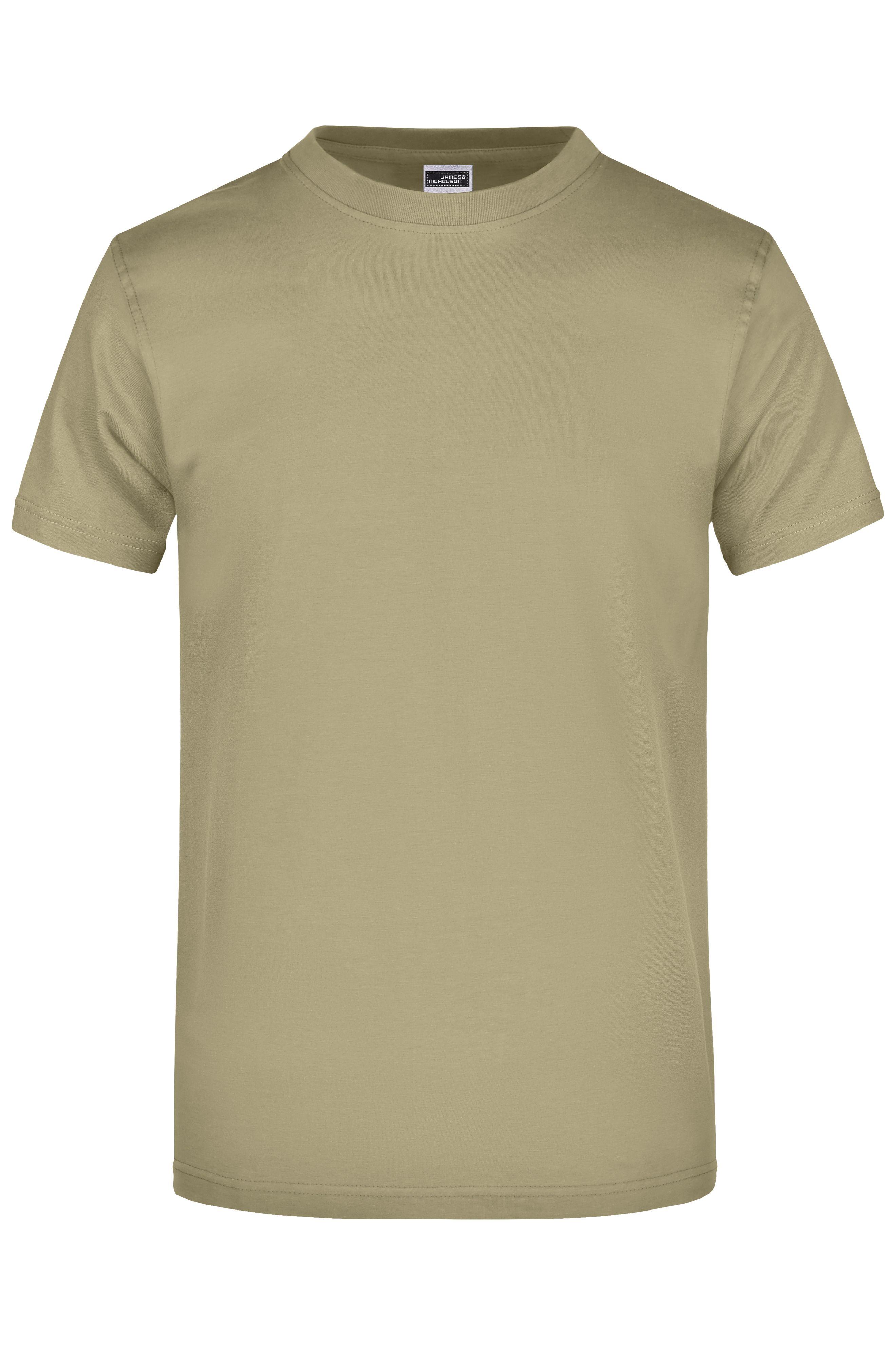Komfort-T-Shirt aus strapazierfähigem Single-Jersey